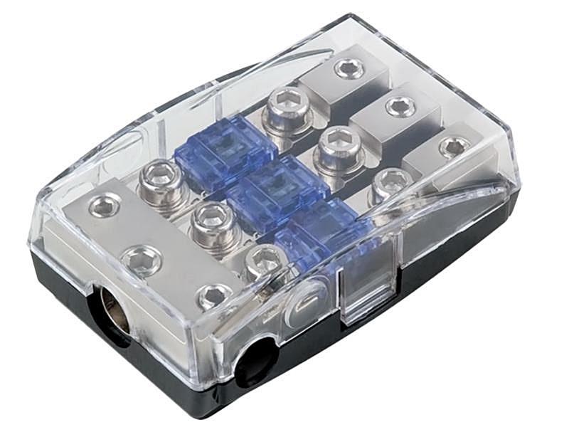 Mini ANL Sicherungshalter für Endstufe Verstärker 1x35qmm /& 2x20qmm